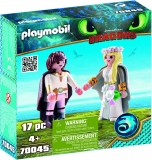 Cuplu Regal Hiccup Si Astrid Playmobil