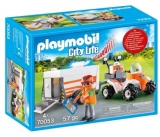Medic Cu Atv Si Remorca Playmobil