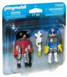 Set 2 Figurine - Politist Si Hot Playmobil