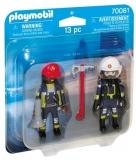 Set 2 Figurine - Pompieri Playmobil