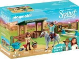 Padoc Cu Magazie Pentru Cai Playmobil
