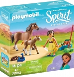 Pru Cu Calut Si Manz Playmobil