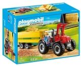 Tractor Cu Remorca Galbena Playmobil