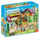Ferma Mare Cu Siloz Playmobil