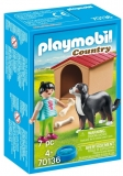 Fetita Cu Catel Si Cusca Playmobil