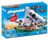 Barca Piratilor Cu Motor Playmobil