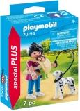Figurina Mama Cu Bebelus Si Caine Playmobil