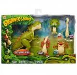 Set 5 figurine Gigantosaurus