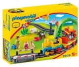 1.2.3 Tren Cu Statie Playmobil
