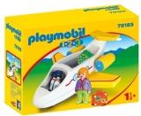 1.2.3 Avion Cu Pasager Playmobil