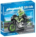 Motocicleta De Viteza Playmobil