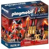 Maestrul Burnham Al Focului Playmobil
