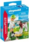 Veterinar Cu Vitel Playmobil