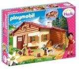 Heidi Si Cabana Din Munti Playmobil
