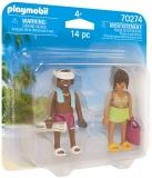 Set 2 Figurine Cuplu La Plaja Playmobil