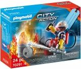 Set Cadou Pompier De Salvare Playmobil