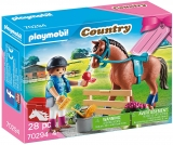 Set Cadou Fetita Si Cal Playmobil