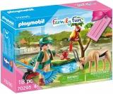 Set Cadou Zoo Fetita Si Animale Playmobil