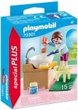 Copil Cu Accesorii Baie Playmobil