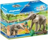 Habitatul Elefantilor Playmobil