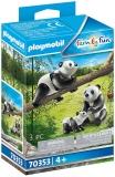 Panda Cu Pui Playmobil