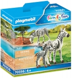 Zebre Cu Pui Playmobil