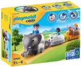 1.2.3 Tren Cu Animalute Playmobil