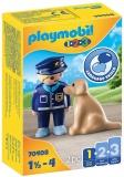 1.2.3 Politist Cu Catel Playmobil