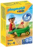 1.2.3 Muncitor Cu Roaba Playmobil