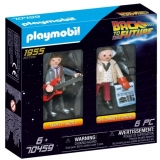 Inapoi In Viitor -Marty Si Dr. Brow Playmobil
