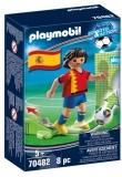 Jucator De Fotbal Spania Playmobil