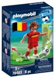 Jucator De Fotbal Belgia Playmobil
