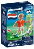Jucator De Fotbal Olanda Playmobil
