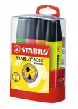 Textmarker Boss set 4 culori Stabilo