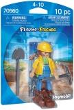 Figurina Muncitor In Constructii Playmobil