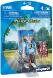 Figurina Baietel Cu Masinuta Playmobil