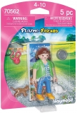 Figurina Fetita Cu Pisicute Playmobil