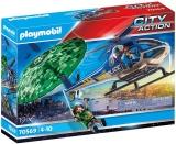Elicopter De Politie Si Parasutist Playmobil