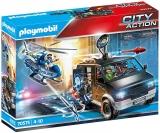 Elicopter De Politie In Urmarirea Dubei Playmobil