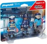 Set 3 Figurine Politisti Playmobil