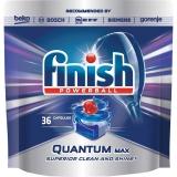 Tablete pentru masina de spalat vase Quantum Max, 36 tablete/set Finish