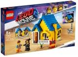 Casa de vis a lui Emmet / Racheta de salvare! 70831 LEGO Movie 2