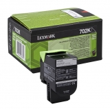 Cartus Toner Black Return Nr.702K 70C20K0 1K Original Lexmark Cs310N