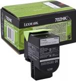 Cartus Toner Black Return Nr.702Hk 70C2Hk0 4K Original Lexmark Cs310N