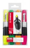 Textmarker Luminator 4 buc/set Stabilo