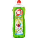 Detergent lichid pentru vase Power Apple 750 ml Pur