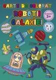 Carte de colorat Robotii galaxiei, A4, 24 pagini
