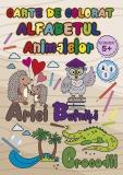 Carte de colorat Alfabetul Animalelor, A4, 24 pagini