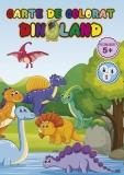 Carte de colorat Dinoland, A4, 24 pagini