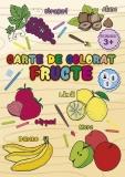 Carte de colorat Fructe, A4, 24 pagini